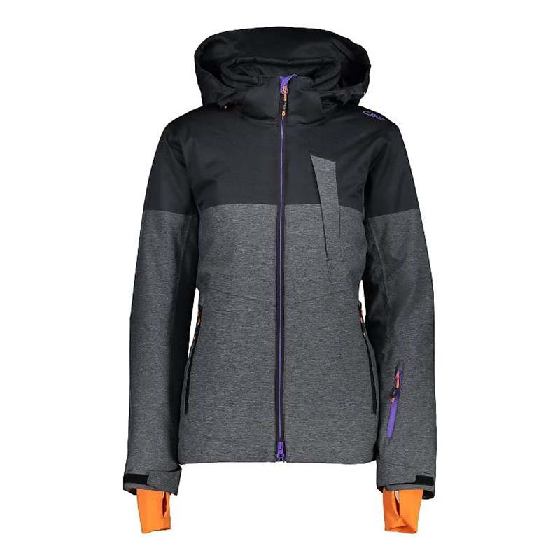 CMP Jacket ZIP HOOD Damen 39w1726 antracite *UVP 199,99