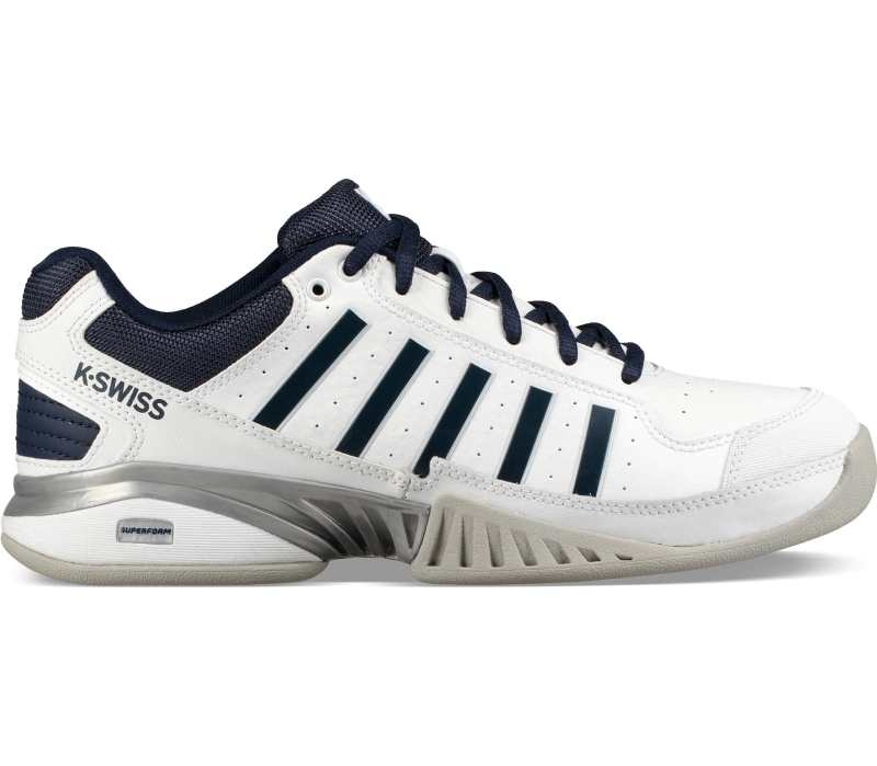 K-Swiss Receiver IV Tennisschuh Herren 05876 white/navy *UVP 99,99