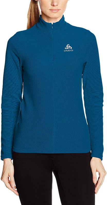 Odlo Midlayer 1/2 Zip Roy Midlayer Damen turkish tile *UVP 59,99