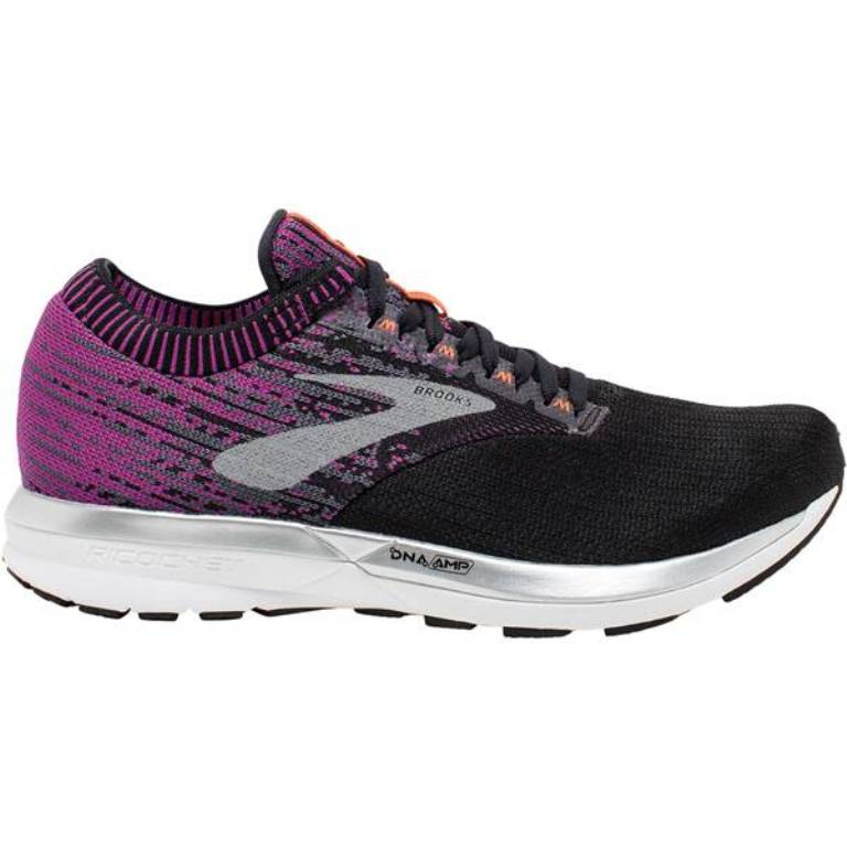 Brooks Ricochet Laufschuh Damen 1202821B black / purple *UVP 139,99