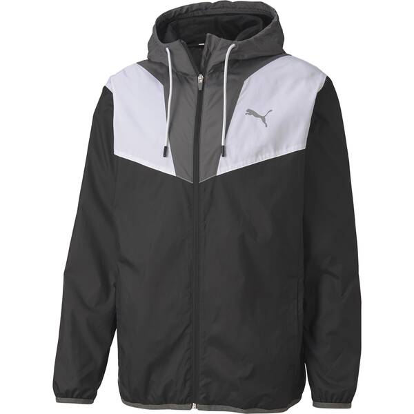 Puma reactive Woven Trainingsjacke Herren 518980 Black *UVP 64,99