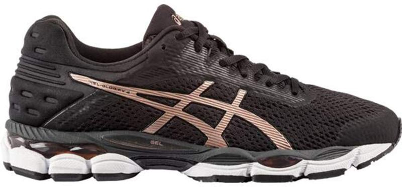 asics Gel Glorify 4 Damen Laufschuh black/rose gold *UVP 159,99