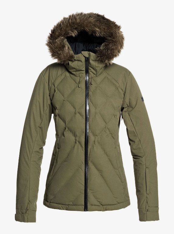 Roxy Breeze Snowjacket Damen green ERJTJ03211 *UVP 349,99