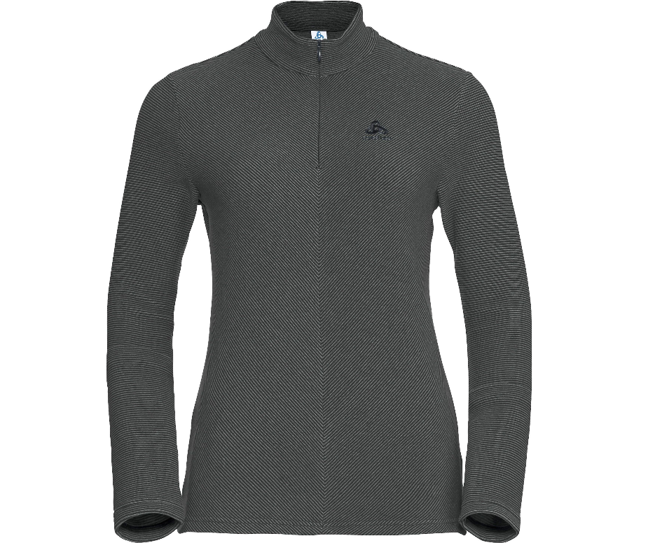 Odlo Midlayer 1/2 Zip Roy Midlayer Damen grey/black UVP* 59,99