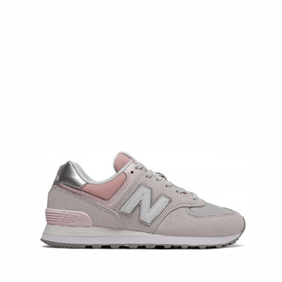 New Balance WL574 SOT Sneaker 775091-50 Damen grey/rose *UVP 89,99