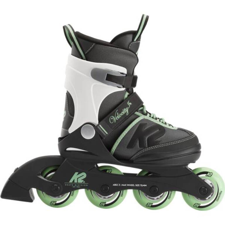 K2 Velocity JR Girls Inliner Skates 30E0291-1 black/grey green *UVP 99,99