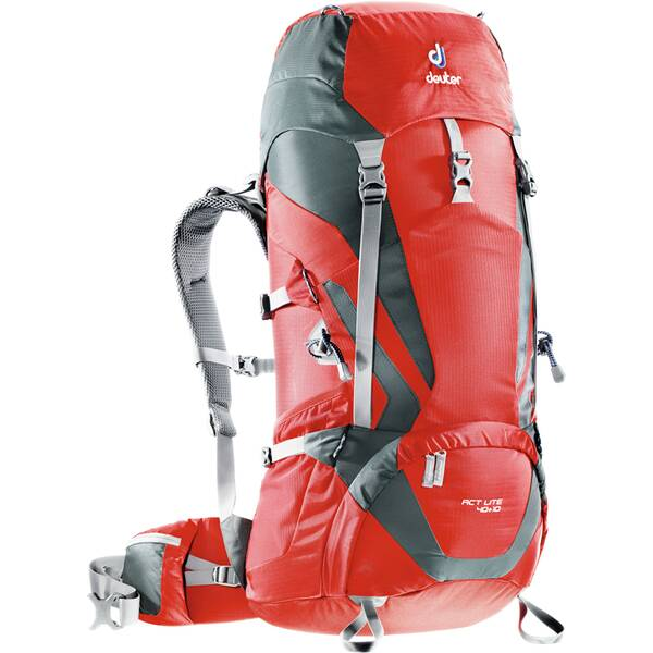 Deuter ACT Lite 40 + 10 Wanderrucksack 3340115 fire/granite *UVP 149,99