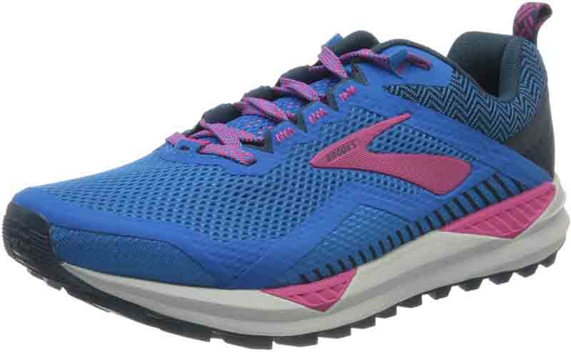 Brooks Cascadia 14 Damen Laufschuh blue/beetroot *UVP 139,99
