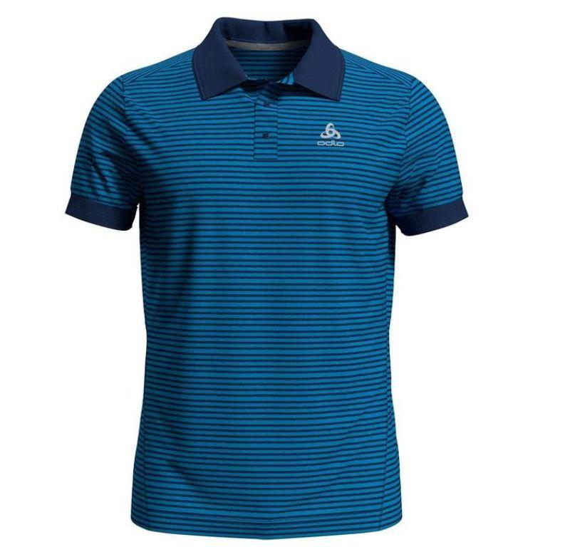 Odlo Polo Shirt s/s Nikko Dry Herren blue aster/estate blue 550062 *UVP 54,99