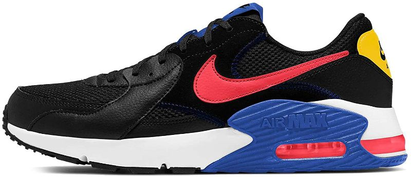 Nike Air Max Excee Sneaker Herren CD4165 black/crimson *UVP 109,99