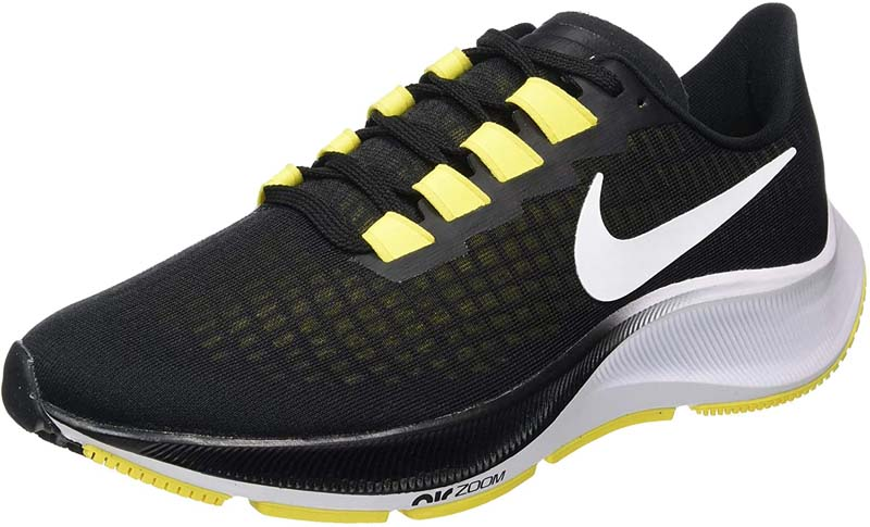 Nike Air Zoom Pegasus 37 Sneaker Herren BQ9646 black/yellow *UVP 119,99