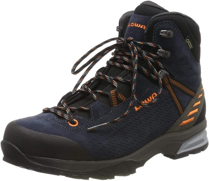 Lowa Ledro GTX Mid 210716 Trekkingschuh Men navy/orange *UVP 199,99