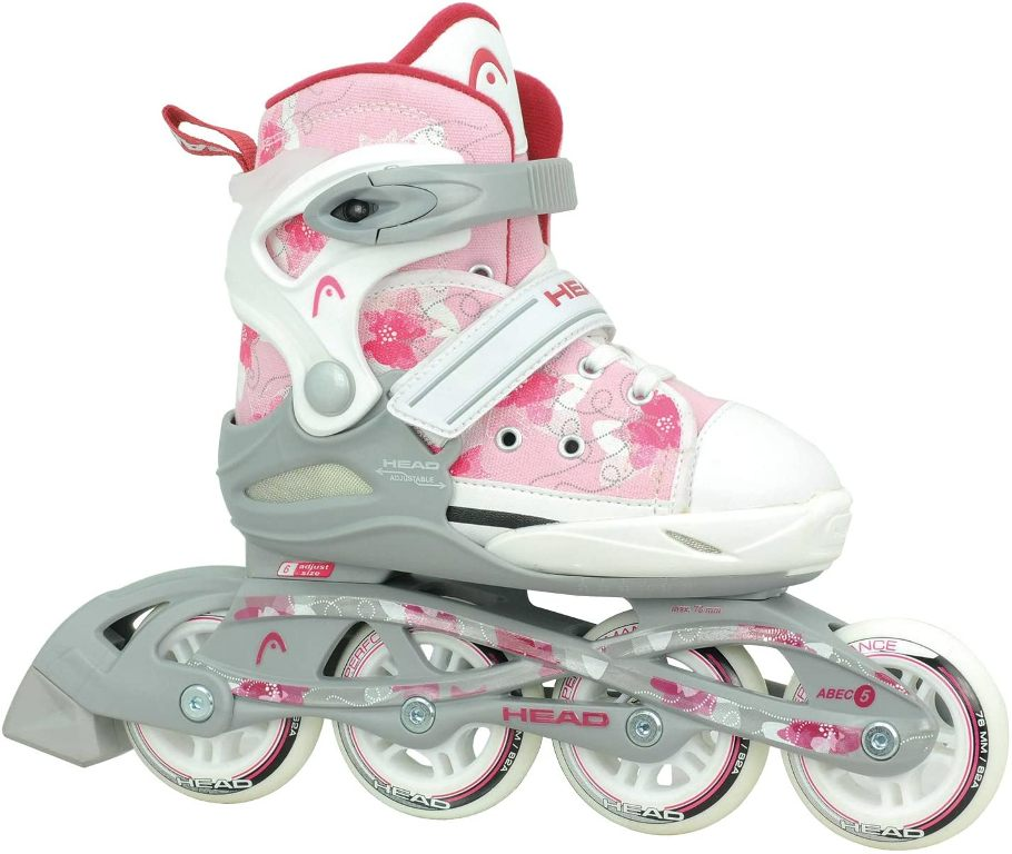 Head adj Inline Skates Girly H3JR08 pink/white *UVP 89,99