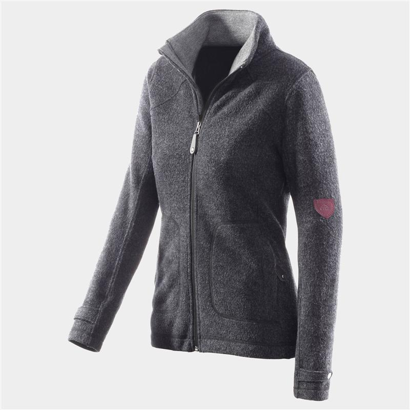 McKinley Mount Isto Fleecejacke Damen Wollfleece black *UVP 69,95