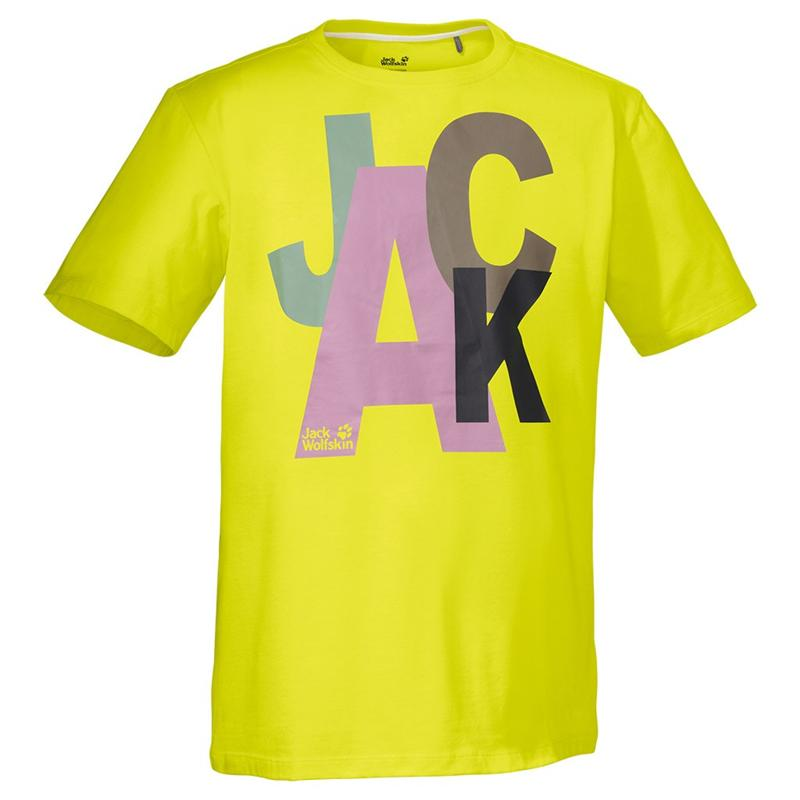 Jack Wolfskin Mixed Jack T Men Logo Shirt NEU *UVP 29,95
