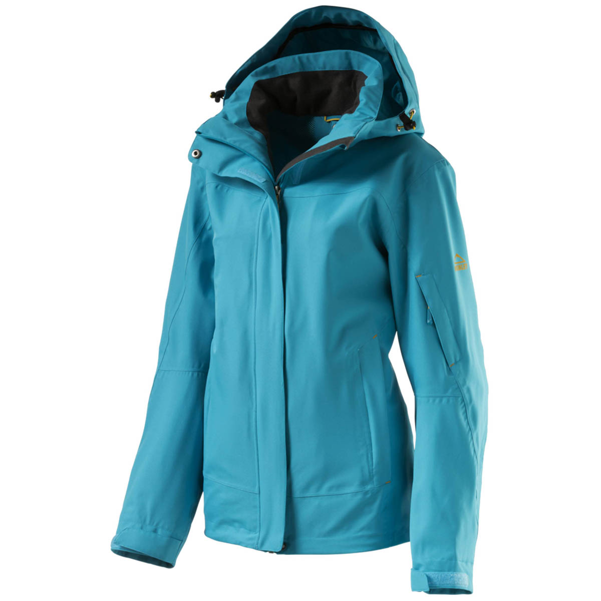 McKinley Cordoba 237258 Zip-In Funktionsjacke Damen blue aqua *UVP 89,95
