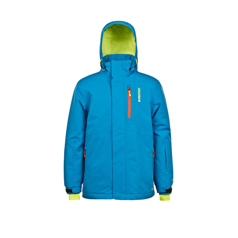 Protest Marc 15 Jr Snowjacket Winterjacke Kinder blue lake *UVP 99,95