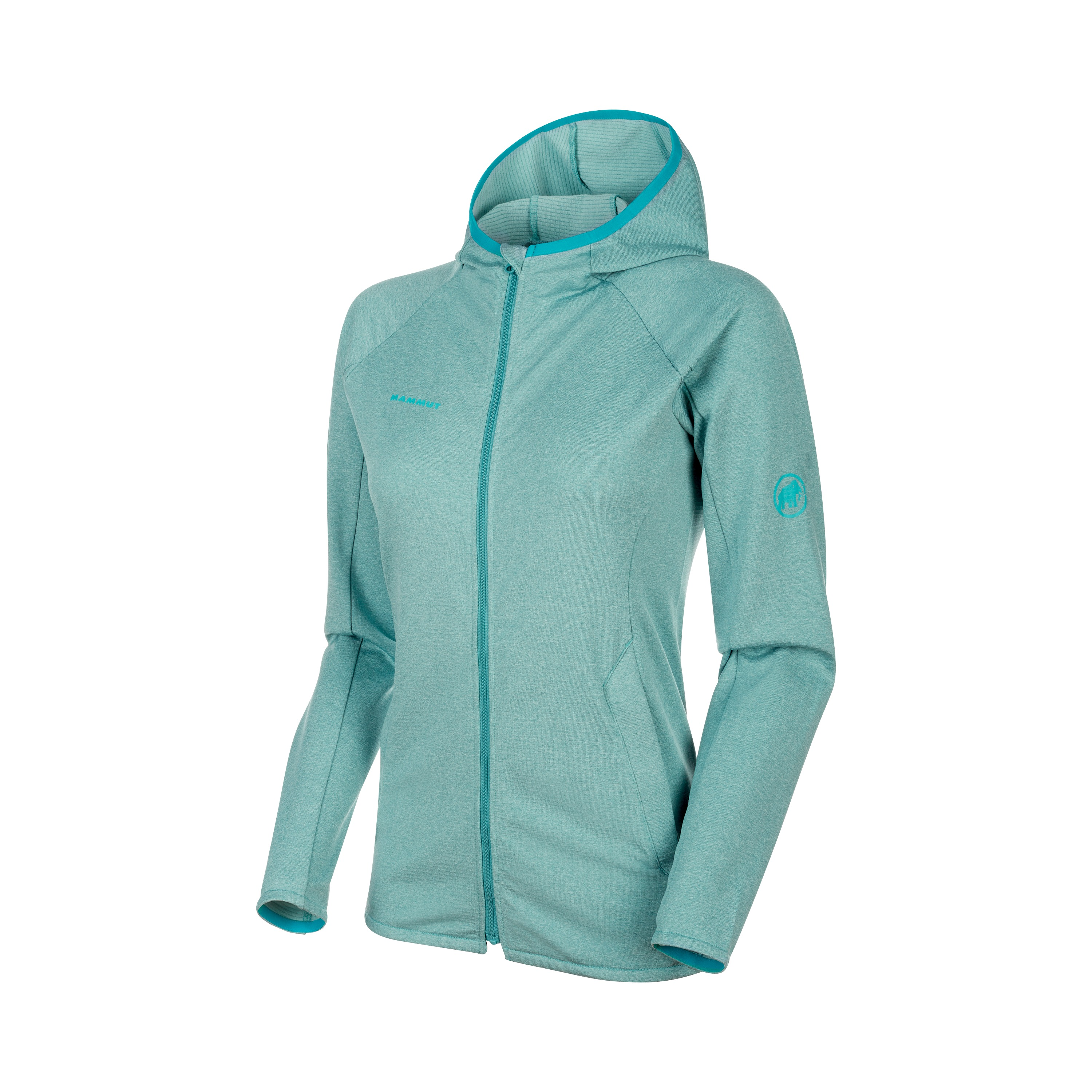 Mammut Nair ML Hooded Midlayer Damen waters melange *UVP 129,99