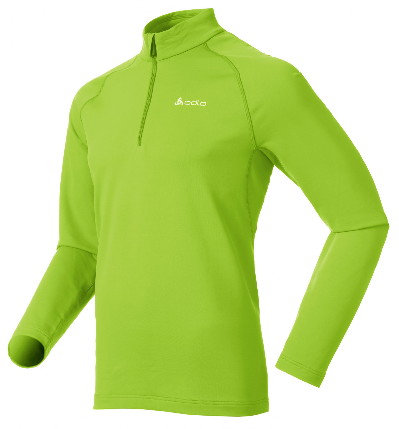 Odlo Stand-Up Collar 1/2 Zip Pizzet 210532 Fleece Herren green UVP* 79,95