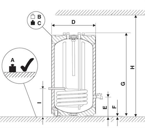 junkers warmwasserspeicher st 120 5z klimaanlage und heizung. Black Bedroom Furniture Sets. Home Design Ideas