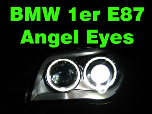 angel eyes standlichtringe bmw 1er e87 ebay. Black Bedroom Furniture Sets. Home Design Ideas