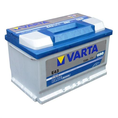 varta blue dynamic e11 autobatterie 12v 74ah. Black Bedroom Furniture Sets. Home Design Ideas