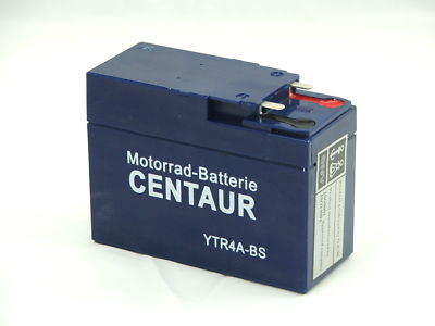 motorrad batterie gel ytr4a bs 12 4a bs 12v 2 5 ah ebay. Black Bedroom Furniture Sets. Home Design Ideas