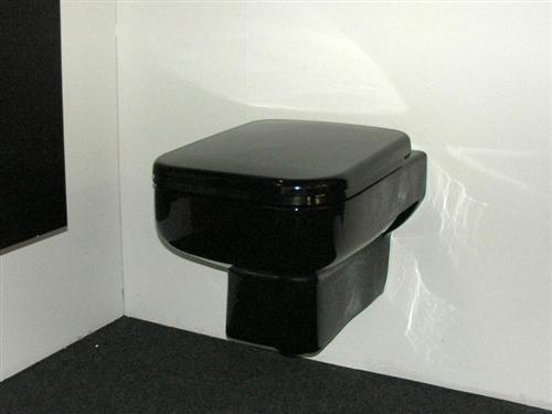 steiger black tiefsp ler wand wc h nge toilette ebay. Black Bedroom Furniture Sets. Home Design Ideas