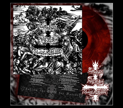 D. N. Slaughtercult - Follow the Calls for Battle (Red Galaxy Vinyl)