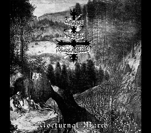 D. N. Slaughtercult - Nocturnal March CD