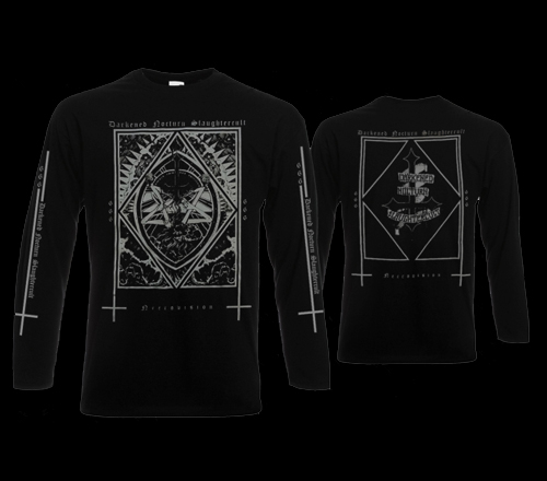 D. N. Slaughtercult - Necrovision Edition 2018 Longsleeve M