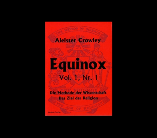 Der Equinox Vol. 1, Band 1