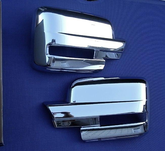 Chrom spiegel abdeckung f r ford f150 ab 2009 ebay for Miroir ford f 150