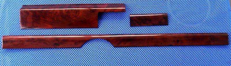 3 teiliger satz echtes wurzelholz holz mercedes w124 neu ebay. Black Bedroom Furniture Sets. Home Design Ideas