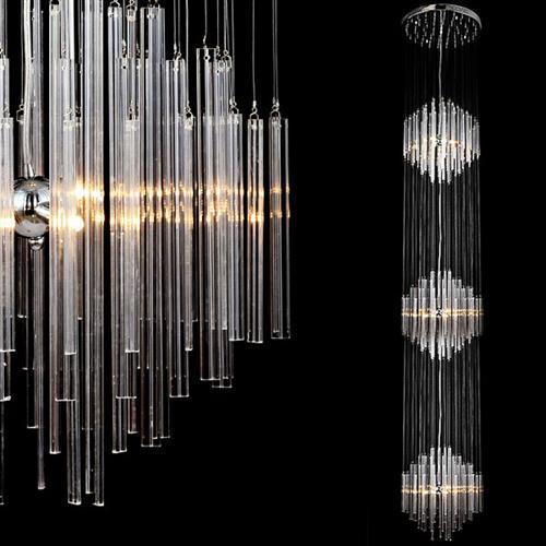 Titania xl orseo 3m lange deckenleuchte deckenlampe for Lange deckenlampe