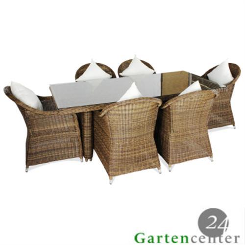 polyrattan gartenmobel essgruppe – rekem, Garten und Bauen