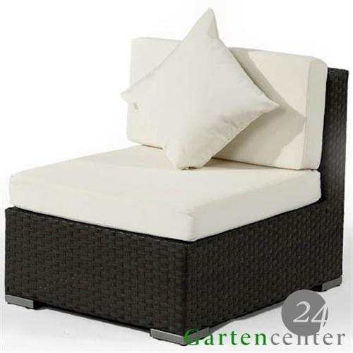 polyrattan hocker sessel stuhl rattan gartenm bel 5060 braun. Black Bedroom Furniture Sets. Home Design Ideas