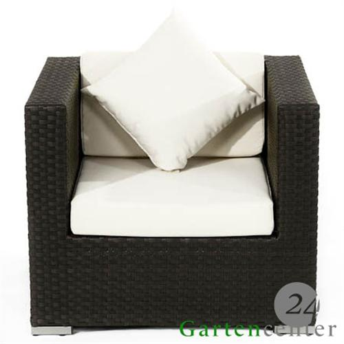 polyrattan sessel rattan stuhl gartenstuhl gartenm bel lounge 5060 braun. Black Bedroom Furniture Sets. Home Design Ideas