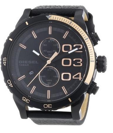 diesel herren armbanduhr xl chronograph dz4327 ebay. Black Bedroom Furniture Sets. Home Design Ideas