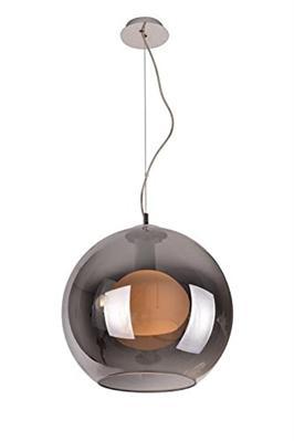 design61 kugel deckenlampe pendelleuchte h ngeleuchte chrome wei modern ebay. Black Bedroom Furniture Sets. Home Design Ideas
