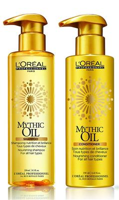 L'oreal Expert Mythic Oil Duo Shampoo 250ml + Conditioner 190ml