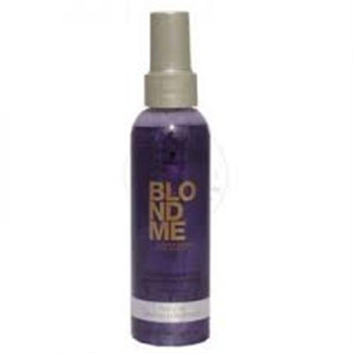 SCHWARZKOPF BLONDME Color Correction Cool Ice Spray Conditioner 150ml