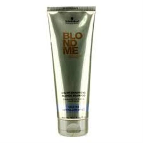 SCHWARZKOPF BLONDME Color Enhancing Blonde Rich Caramel Shampoo 250ml