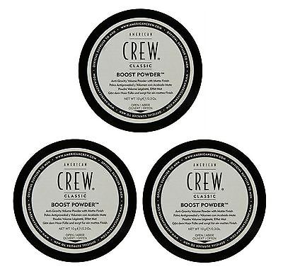 American Crew Boost Powder 3 x 10g = 30g