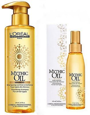 L'oreal Expert Mythic Oil Duo Shampoo 250ml + Oil 125ml