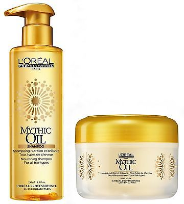 L'oreal Expert Mythic Oil Duo Shampoo 250ml + Mask 200ml