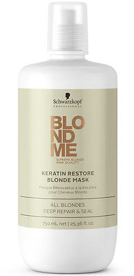 SCHWARZKOPF BLONDME Keratin Restore Blonde Treatment 750ml