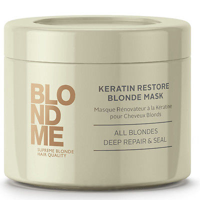 SCHWARZKOPF BLONDME Keratin Restore Blonde Treatment 200ml