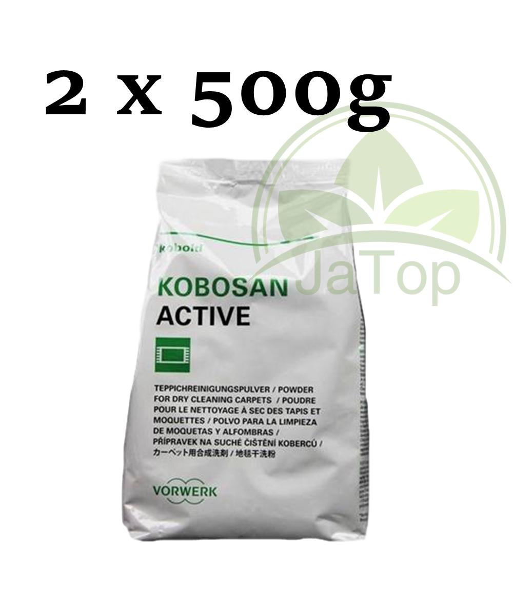 Original Vorwerk Kobosan, 1 kg, Active TeppichPulver