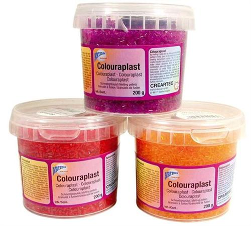 Colouraplast Schmelzgranulat, Transparent 25kg